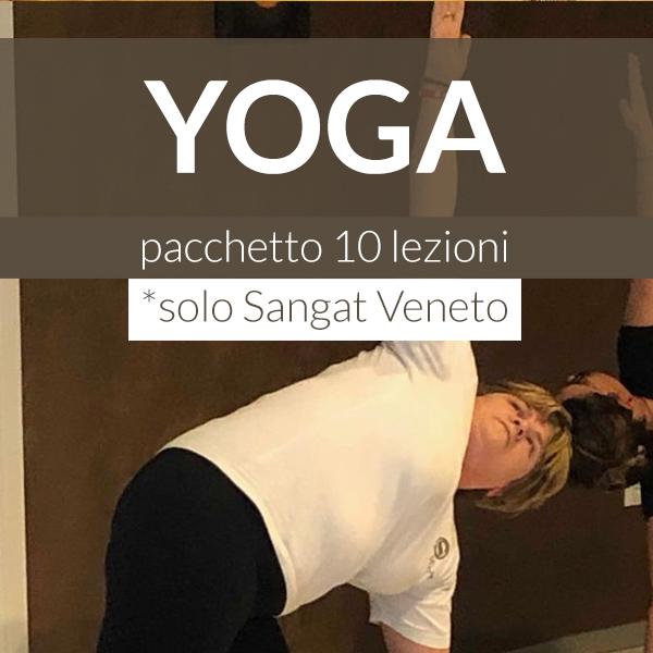 Sangat Yoga Pacchetto Lezioni 10