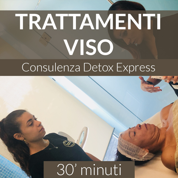 Trattamenti viso Detox Express Consulenza